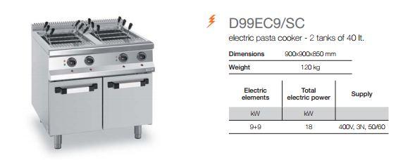 Pasta Cooker D99EC9-SC