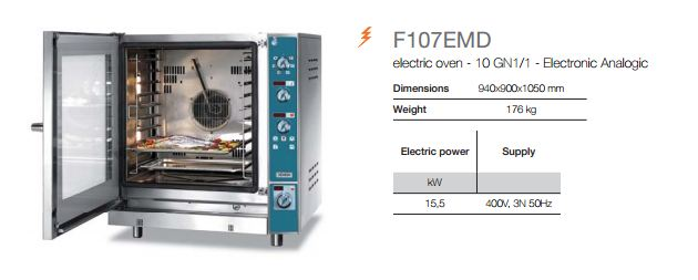 Combi Analogic OvenF107EMD-info